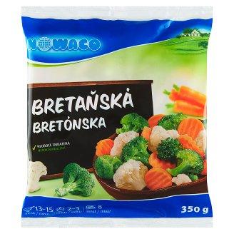 Nowaco Bretaňská zeleninová směs s brokolicí 350g
