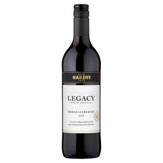 Hardys Legacy Shiraz Cabernet červené víno 75cl
