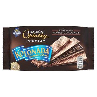 Opavia Kolonáda Tradiční oplatky premium s tabulkou hořké čokolády 92g