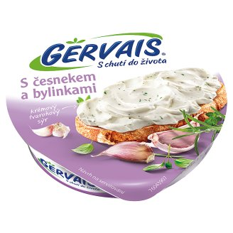 Gervais Original Cream Cottage Cheese with Garlic and Herbs 80g