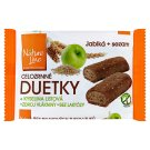 Nature Line Duetky Whole Grain Crackers with Apples and Sesame Seeds 50g