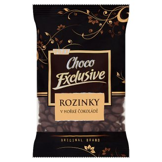 Poex Choco Exclusive Raisins in Dark Chocolate 200g