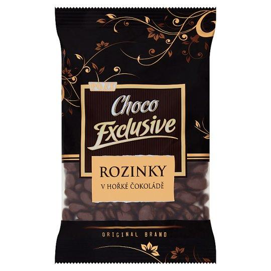 Poex Choco Exclusive Rozinky v hořké čokoládě 200g