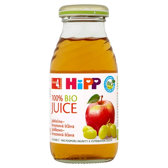 HiPP 100% Organic Apple-Grape Juice 0.2L
