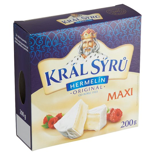 Král Sýrů Camembert Original Maxi 200g