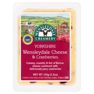 Wensleydale Creamery Yorkshire Wensleydale Cheese & Cranberries 150g