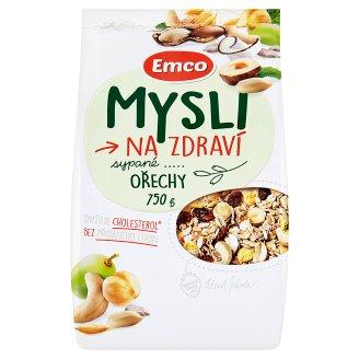 Emco Mysli na Zdraví Sypané ořechy 750g