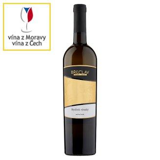 Rodinné Vinařství Břeclav Ryzlink rýnský bílé polosuché jakostní víno s přívlastkem 0,75l