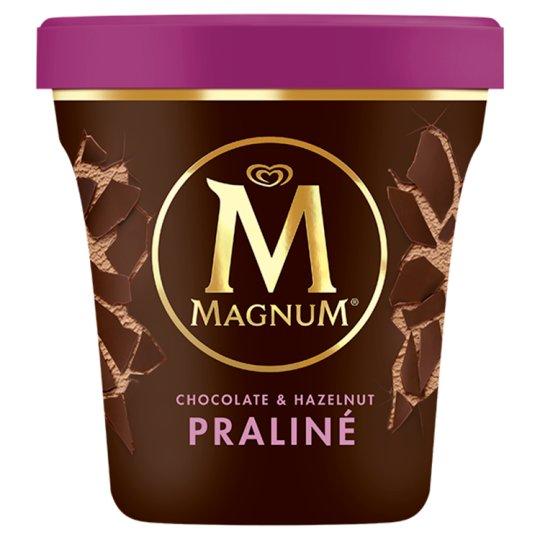 Magnum Praliné zmrzlina v kelímku 440ml
