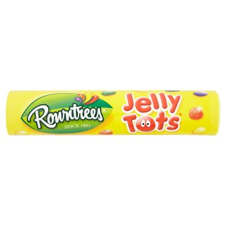 Rowntrees Jelly Candies with Fruit Flavors 130g