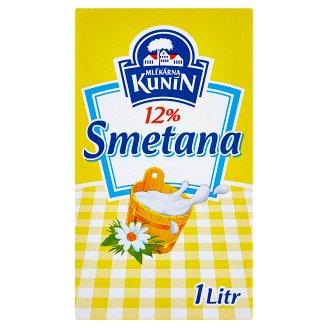 Mlékárna Kunín 12% smetana 1l