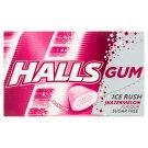 Halls Gum Ice Rush Watermelon Flavour Sugar Free 18g