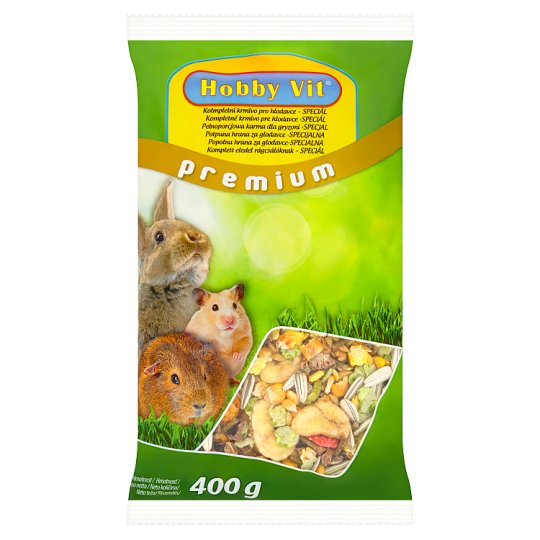 Hobby Vit Premium kompletní krmivo pro hlodavce speciál 400g