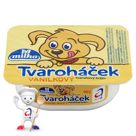 Milko Tvaroháček Tvarohový krém s vanilkovou příchutí 90g