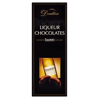 Doulton Liqueur Chocolates Flavoured with Teacher's Blended Scotch Whisky 150g