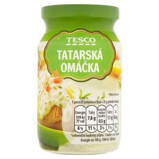 Tesco Tartar Sauce 215g
