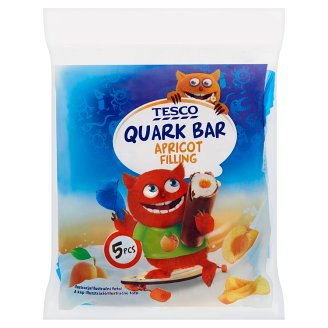Tesco Quark Bar Apricot Filling 5 x 30g