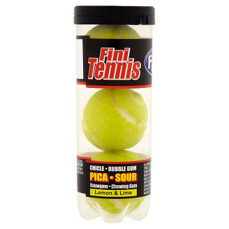 Fini Tennis Lemon & Lime žvýkačky 45g