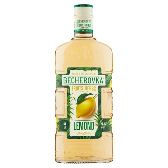 Becherovka Lemond Herbal Liqueur 50cl