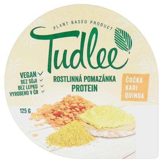 Tudlee Rostlinná pomazánka čočka, kari, quinoa 125g