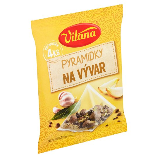 Vitana Broth Pyramids of Spices 4 x 5g