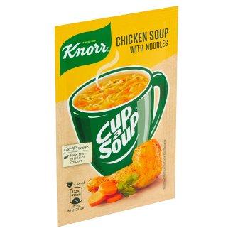 Knorr Cup a Soup Kuřecí instantní polévka s nudlemi 12g