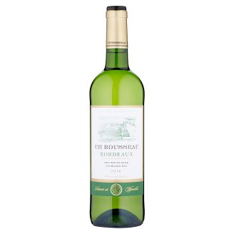 CH Rousseau Bordeaux White Wine Dry 750ml