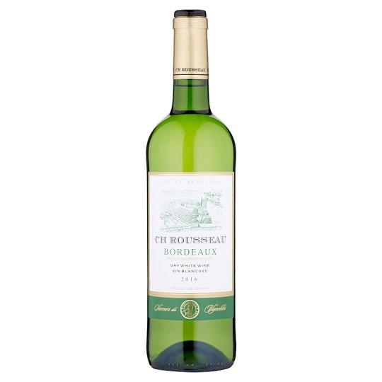 CH Rousseau Bordeaux bílé víno suché 750ml