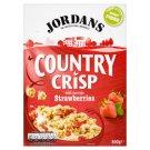 Jordans Country Crisp müsli s jahodami 500g