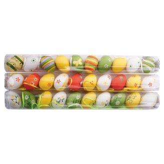Plastová vajíčka v tubě 10 ks, různédruhy