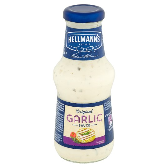Hellmann's Garlic Sauce for Meat 250ml