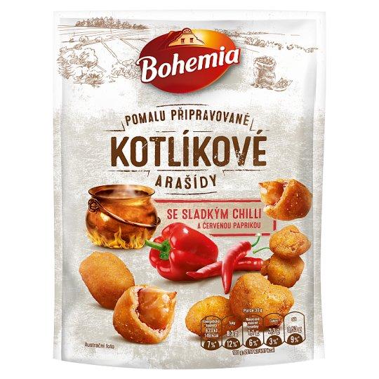 Bohemia Kotlíkové arašídy se sladkým chilli a červenou paprikou 150g