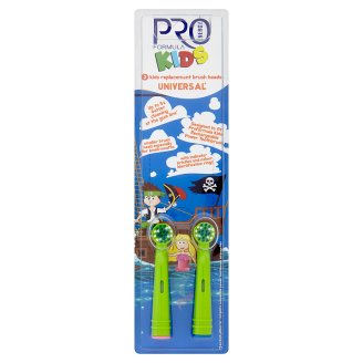 Tesco Pro Formula Replacement Head for Electric Toothbrush Kids 2 pcs