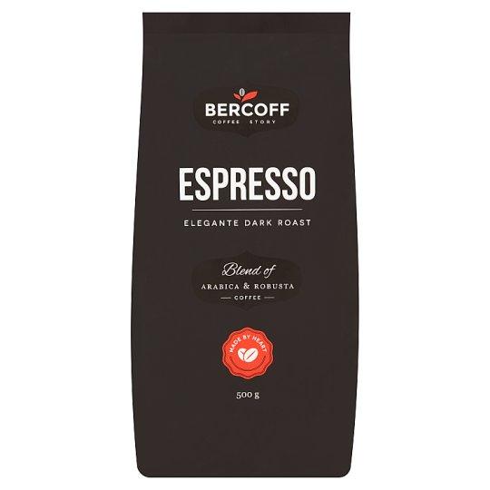 Bercoff Espresso káva Arabica & Robusta 500g