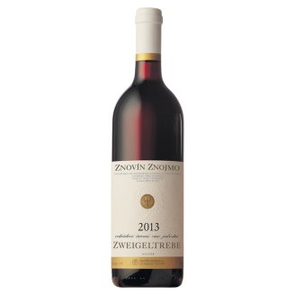 Znovín Znojmo Zweigeltrebe Varietal Quality Dry Red Wine 0.75L