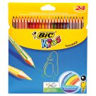 Bic Kids Tropicolors 2 Colouring Pencils 24 pcs