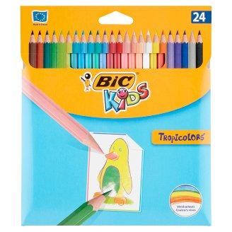 Bic Kids Tropicolors 2 barevné pastelky 24 ks