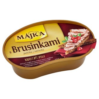 Májka Pate with Cranberries 150g