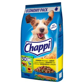 Chappi with Poultry Meat and Vegetables 10kg
