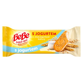 Opavia BeBe Dobré Ráno Whole Grain Biscuits with Yoghurt 50.6g