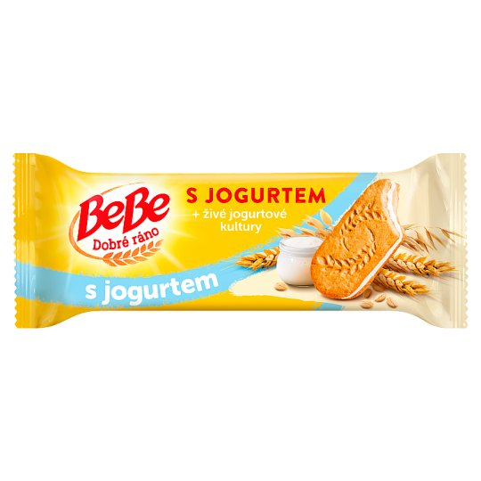 Opavia BeBe Good Morning Cereal Biscuits with Yogurt Filling 50.6g