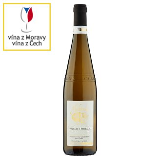 Habánské Sklepy Müller Thurgau Dry White Wine 0.75L