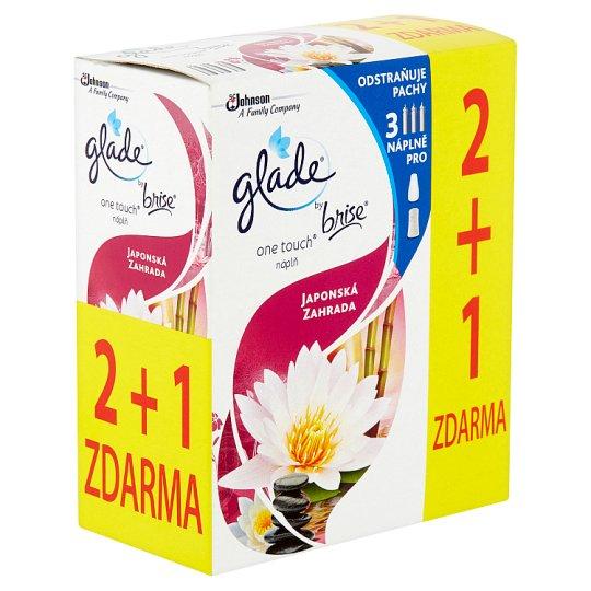 Glade by Brise One Touch Japonská zahrada náplň 3 x 10ml