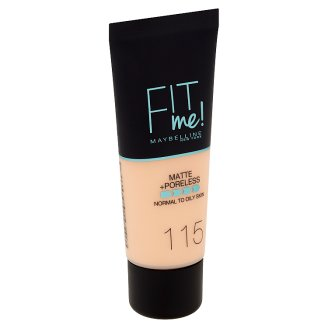 Maybelline New York Fit Me! Mate and Poreless 115 make-up 30ml
