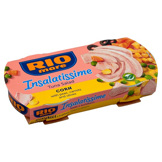 Rio Mare Insalatissime Ready Meal of Vegetables and Tuna 2 x 160g