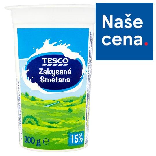 Tesco Sour Cream 15% 200g