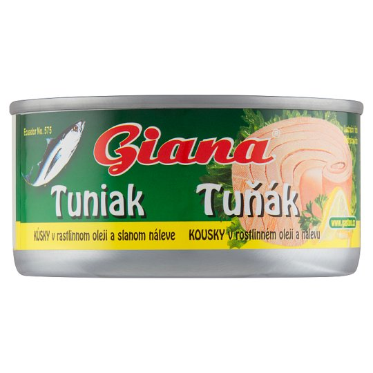 Giana Tuna Pieces in Vegetable Oil and Brine 185g