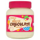 Tesco White Chocolate Spread 400g