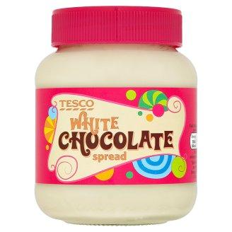Tesco Pomazánka s příchutí bílé čokolády 400g