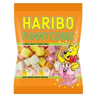 Haribo Funny cubes pěnové cukrovinky s ovocnými příchutěmi 90g